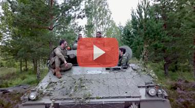 LA OTAN destaca la contribución a la seguridad de los Pizarros españoles en Letonia