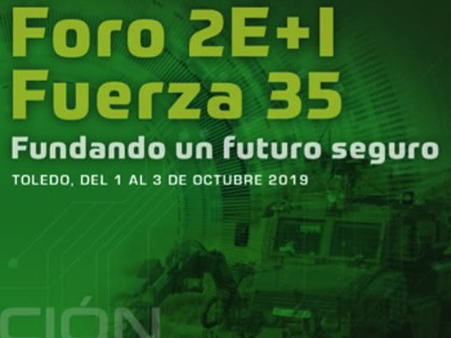 Foro 2E+I Fuerza 35 (1 al 3 de octubre 2019)