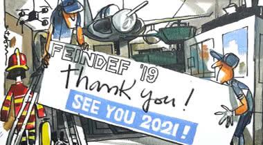 FEINDEF superó los 12.800 visitantes en su primera edición