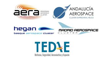 Se pone en marcha el Grupo de Comunicación TEDAE - Clusters Aeronáuticos