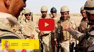 Misión de adiestramiento en Irak