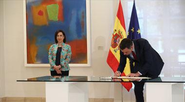 El presidente de Gobierno firma la Directiva de Defensa Nacional 2020
